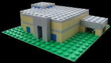 Tradeshows_Amoco_Bank Lego Model