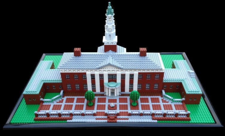 Lego Replica of Southern Seminary