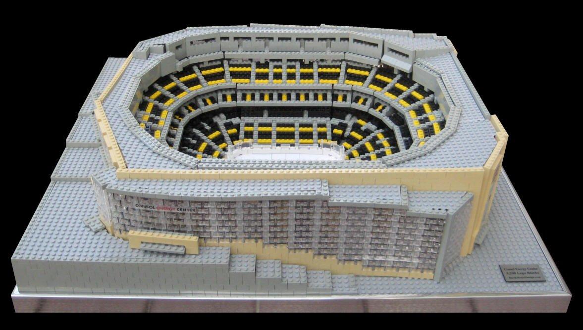 Pittsburgh Pens Lego Model