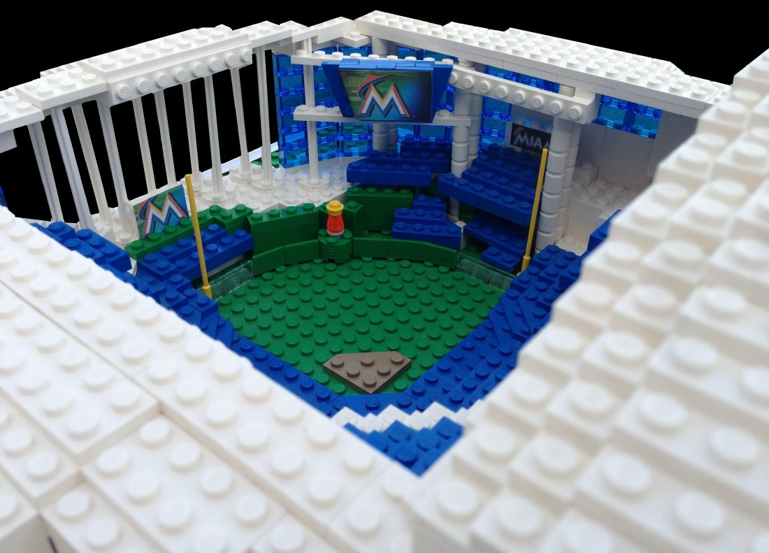 Lego Miami Marlins Ballpark