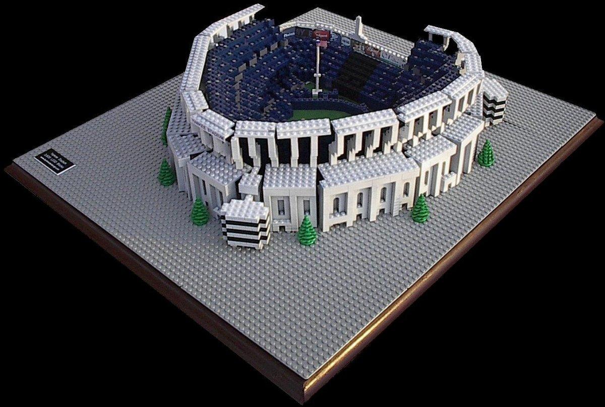 lego baseball field instructions