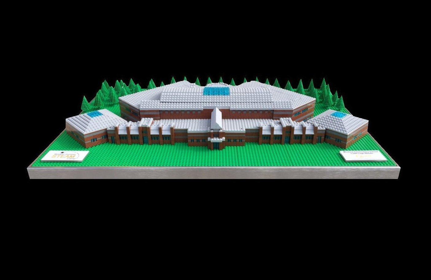 Montour Elementary School Lego Model