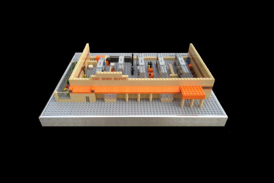 Lego Home Depot
