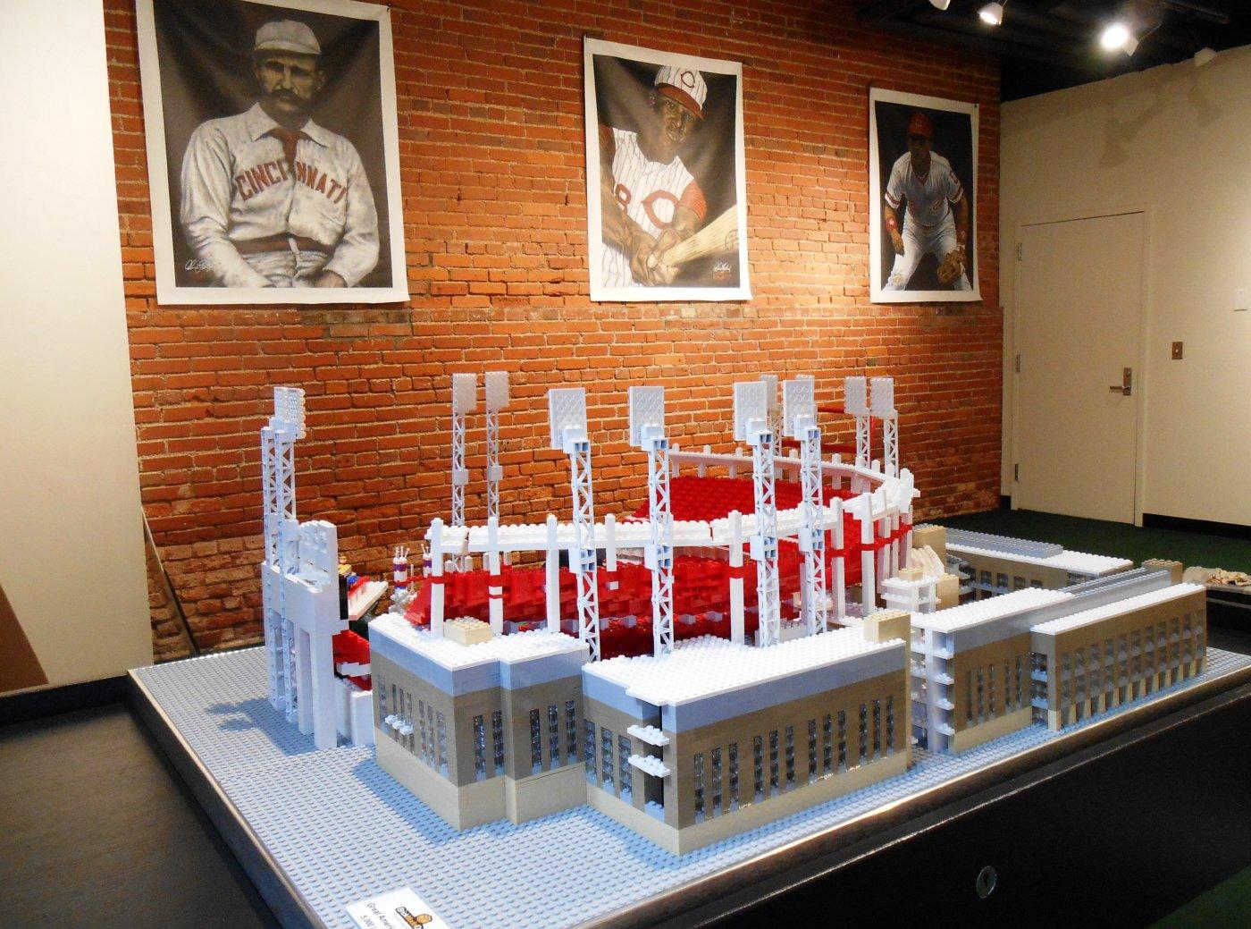 Cincinnati Reds Lego Model