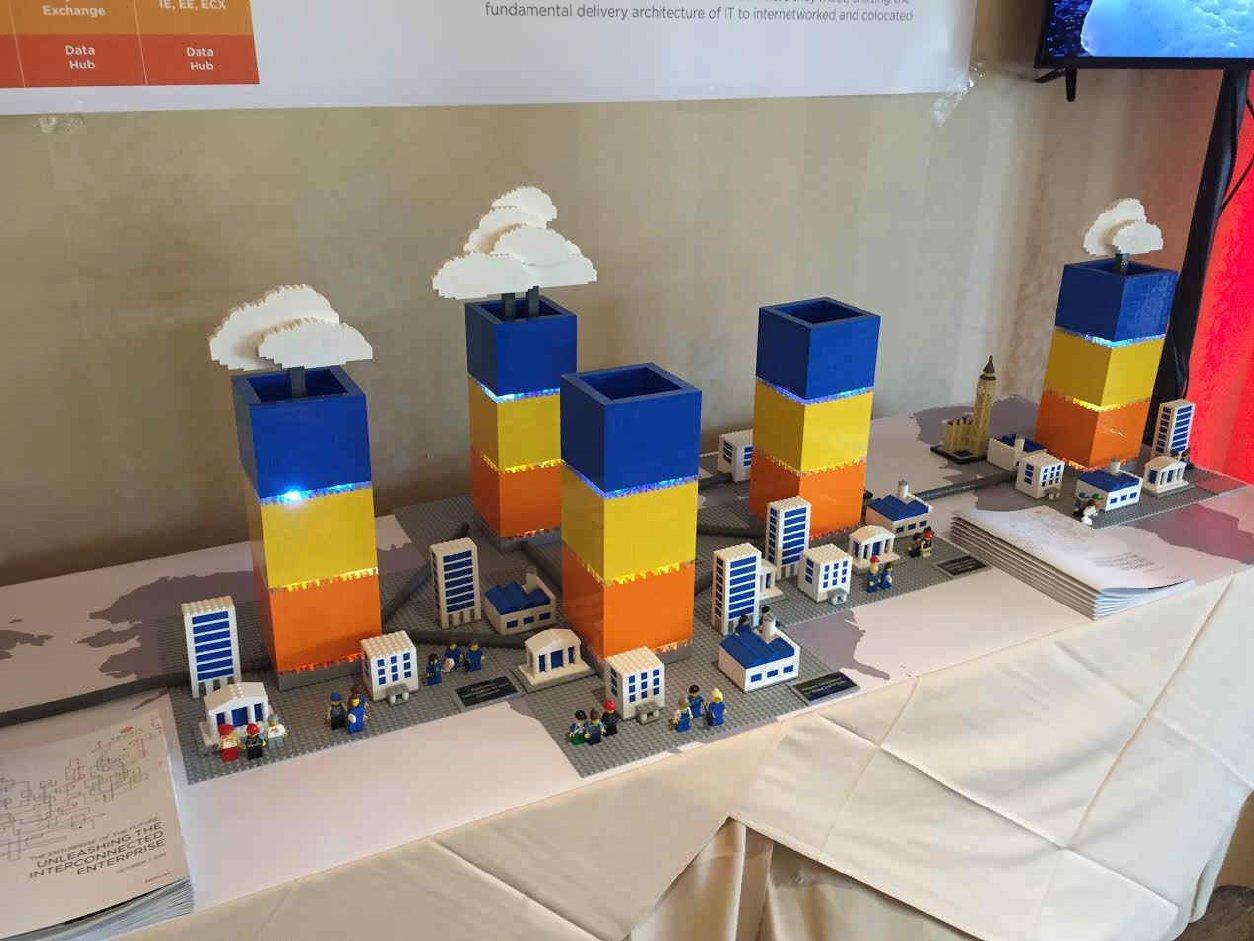 Equinix Lego Display
