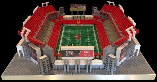 Lego Raymond James Tampa Bay Buccaneers Stadium