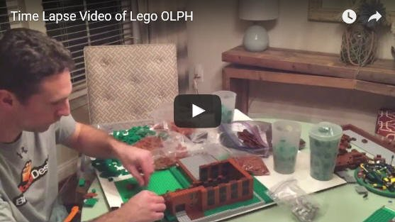 Time Lapse Video of LEGO OLPH School