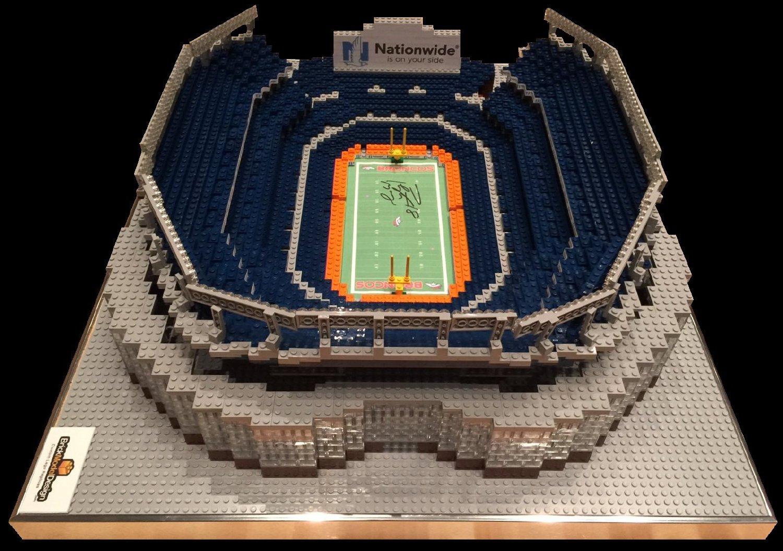Lego Replica of Denver Broncos Stadium
