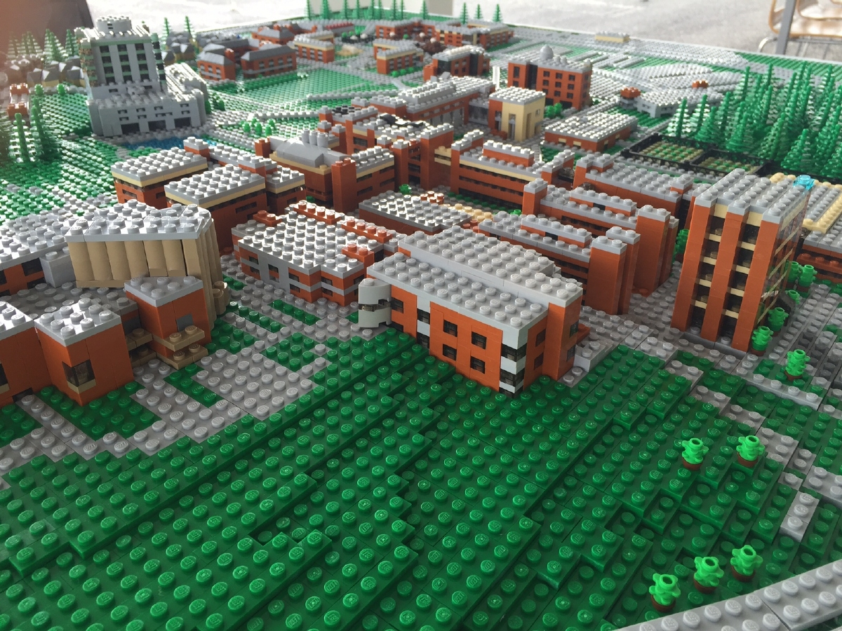 UMBC Lego Campus