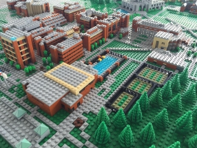 UMBC 50th - LEGO Campus