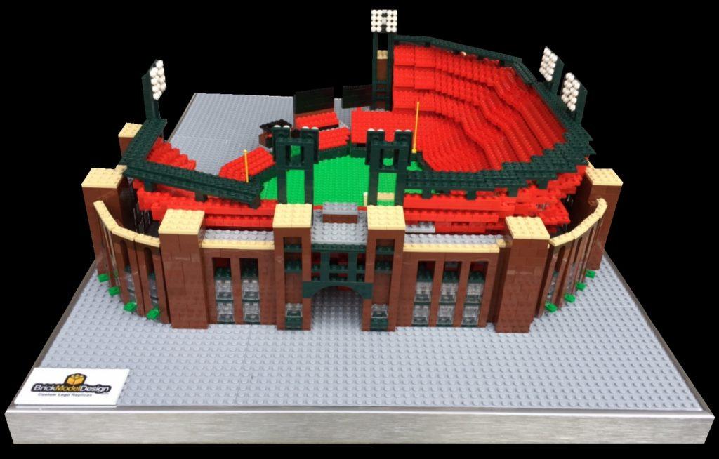 Lego Model of BUSCH STADIUM - ST. LOUIS CARDINALS