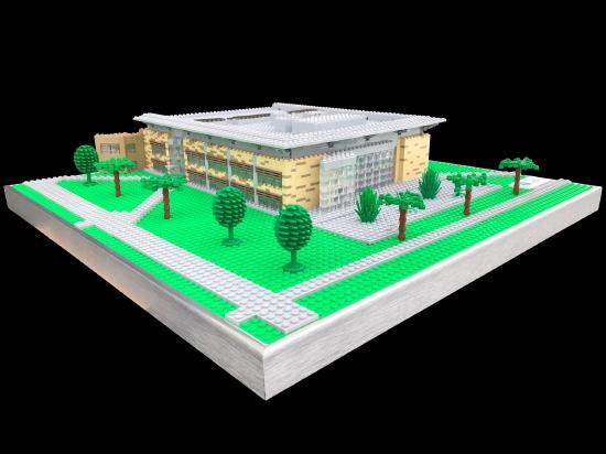 Cuyahoga Community College Lego Model