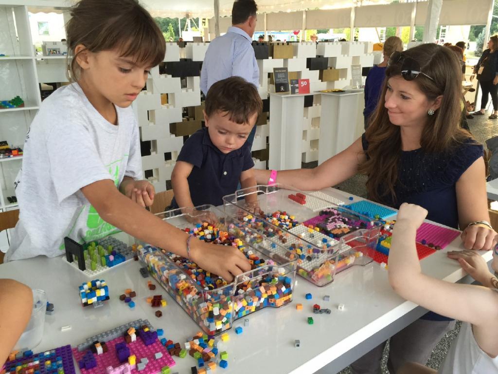Lego Mosaic Making